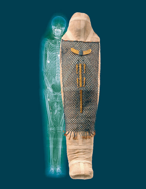 Mummy scan, Egyptian Mummy